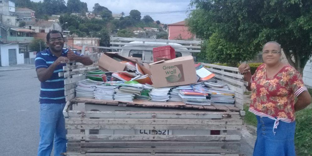 Projeto – Coleta Seletiva de Livros e Apostilas – Ano 2019