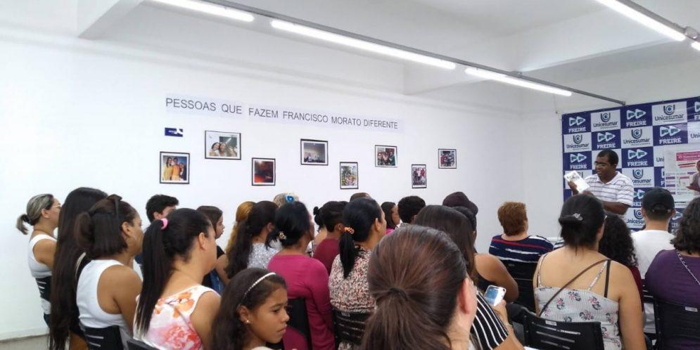 Publicação do Livro da Historia da Cidade de Francisco Morato – Autor: Prof. Agnaldo Vidali – Local: Faculdade Freire